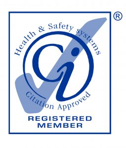 Registered member of the Health and safety systems Citation Quality Mark