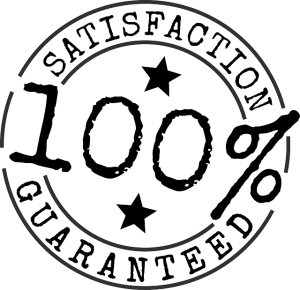 100% Satisfaction Guaranteed symbol icon