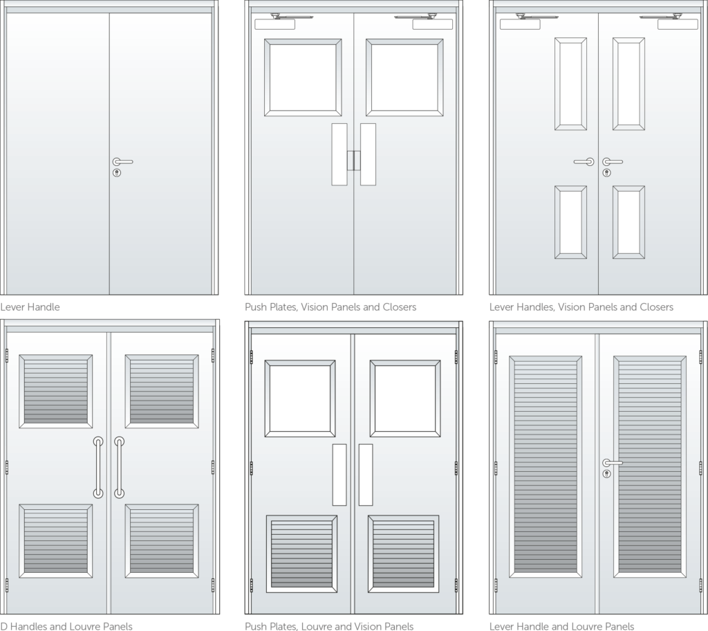 Steel doors Hardware_configs