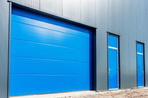 sectional roller shutter door